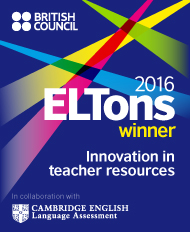 ELTons Award for Innovation in Teacher Resources