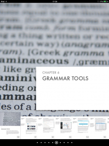 Grammar Tools Chapter