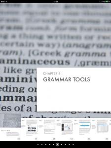 Grammar Tools Chapter