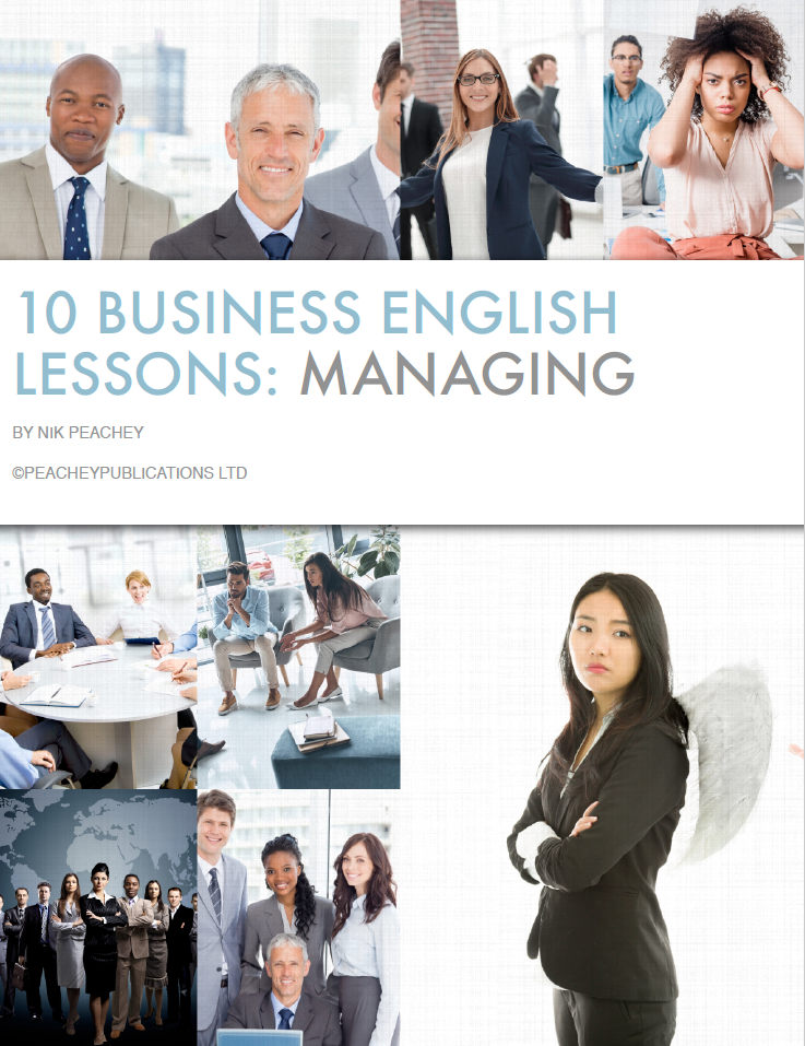 Book Cover - 10 Business English Lessons - Managing