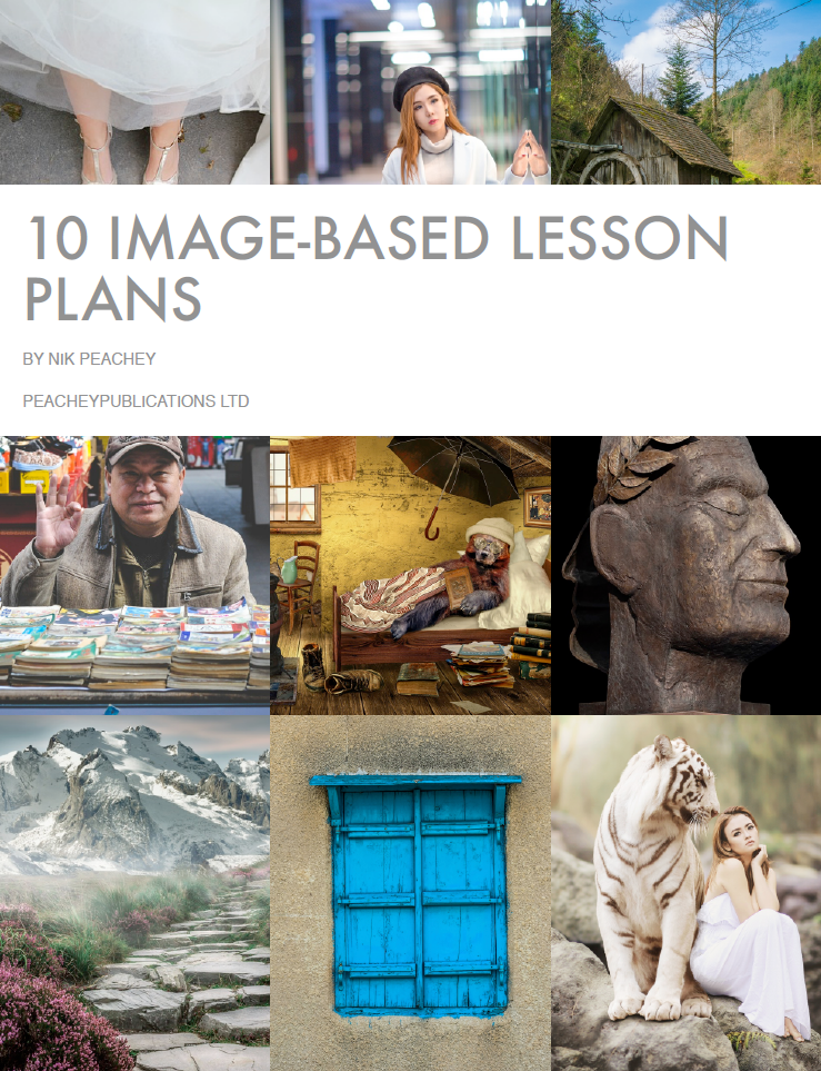 Book Cover - 10 Image-Based Lessons