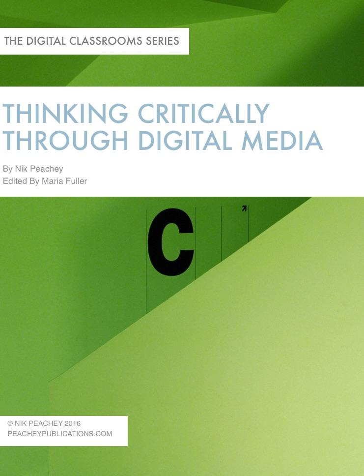 Book cover - Thinking critically through digital media