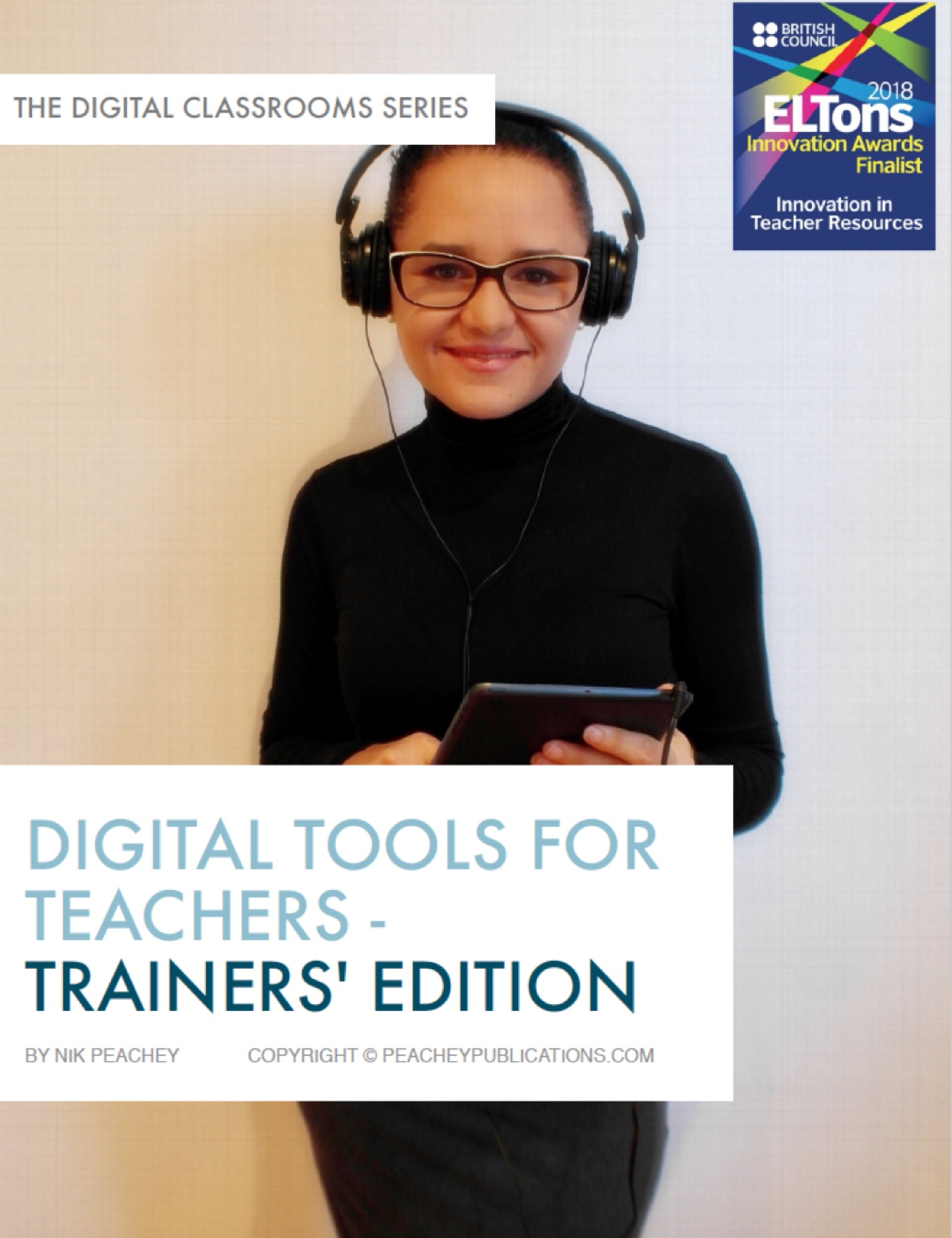 Book Cover - Digital Tools for Teachers - Trainers' Edition