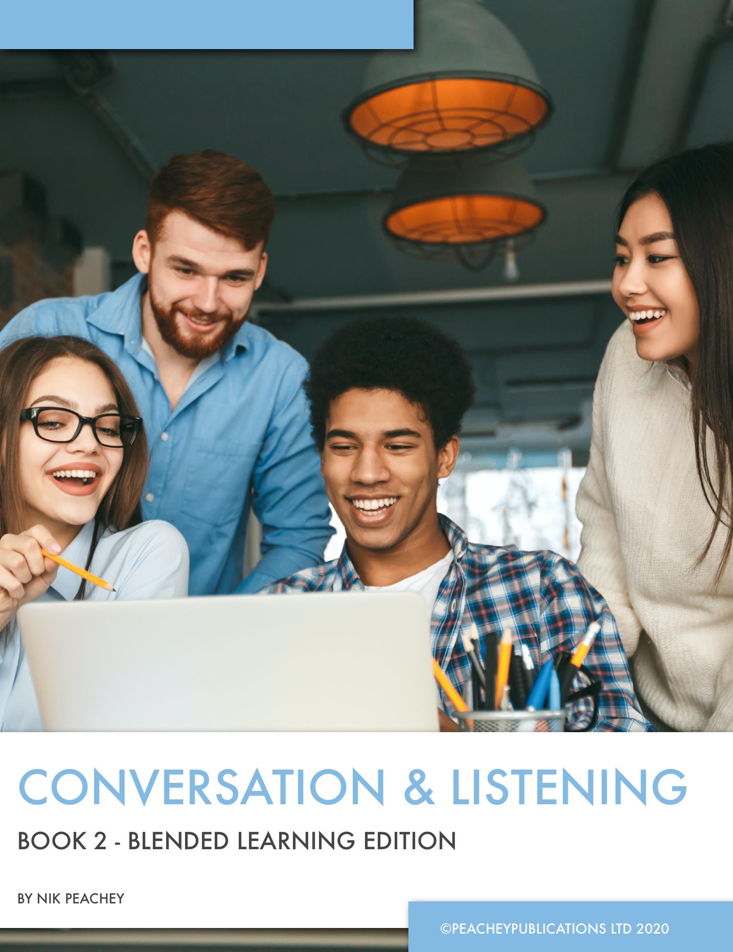 Book Cover - Conversation & Listening - Book 2
