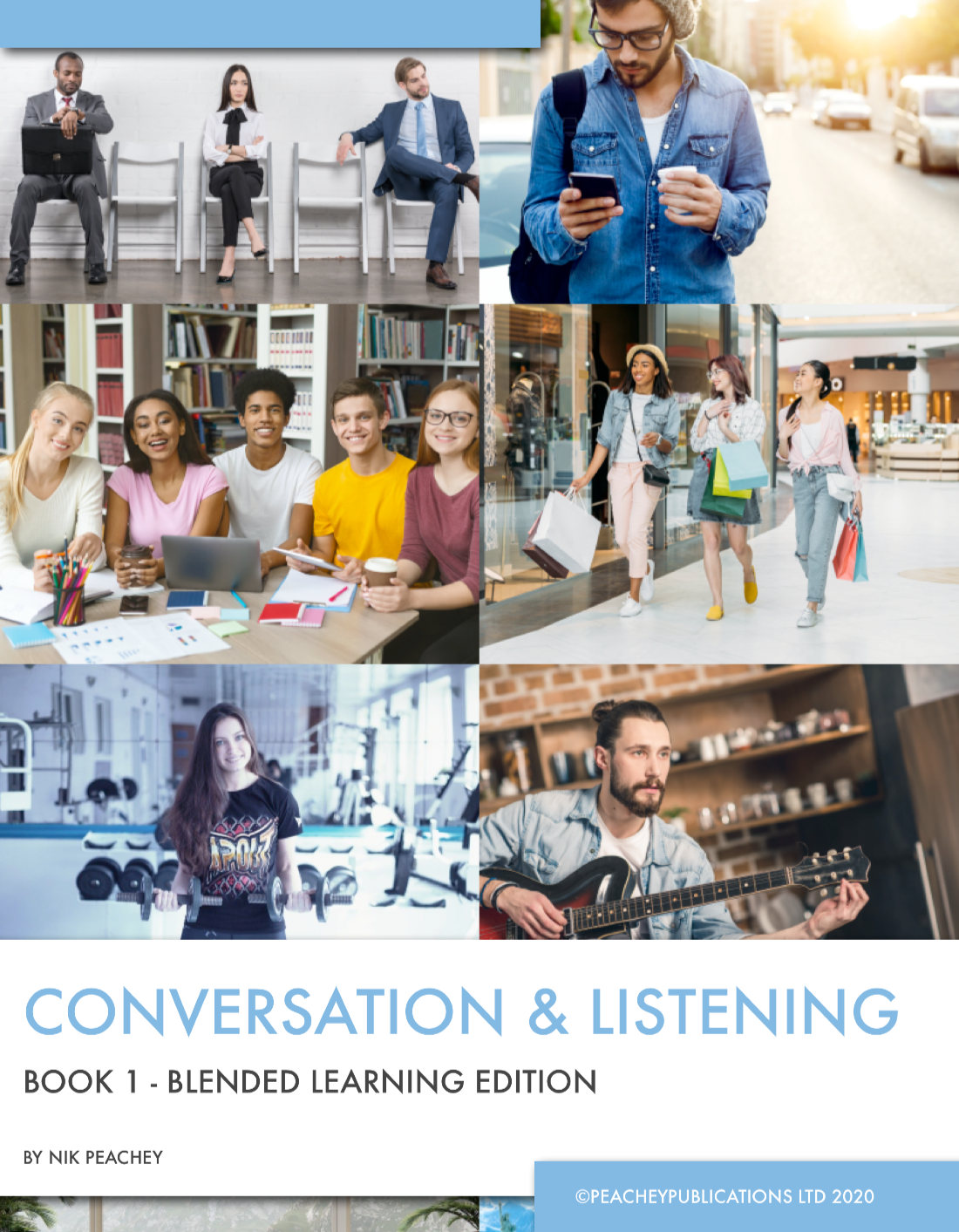Conversation and Listening Book 1 Cover