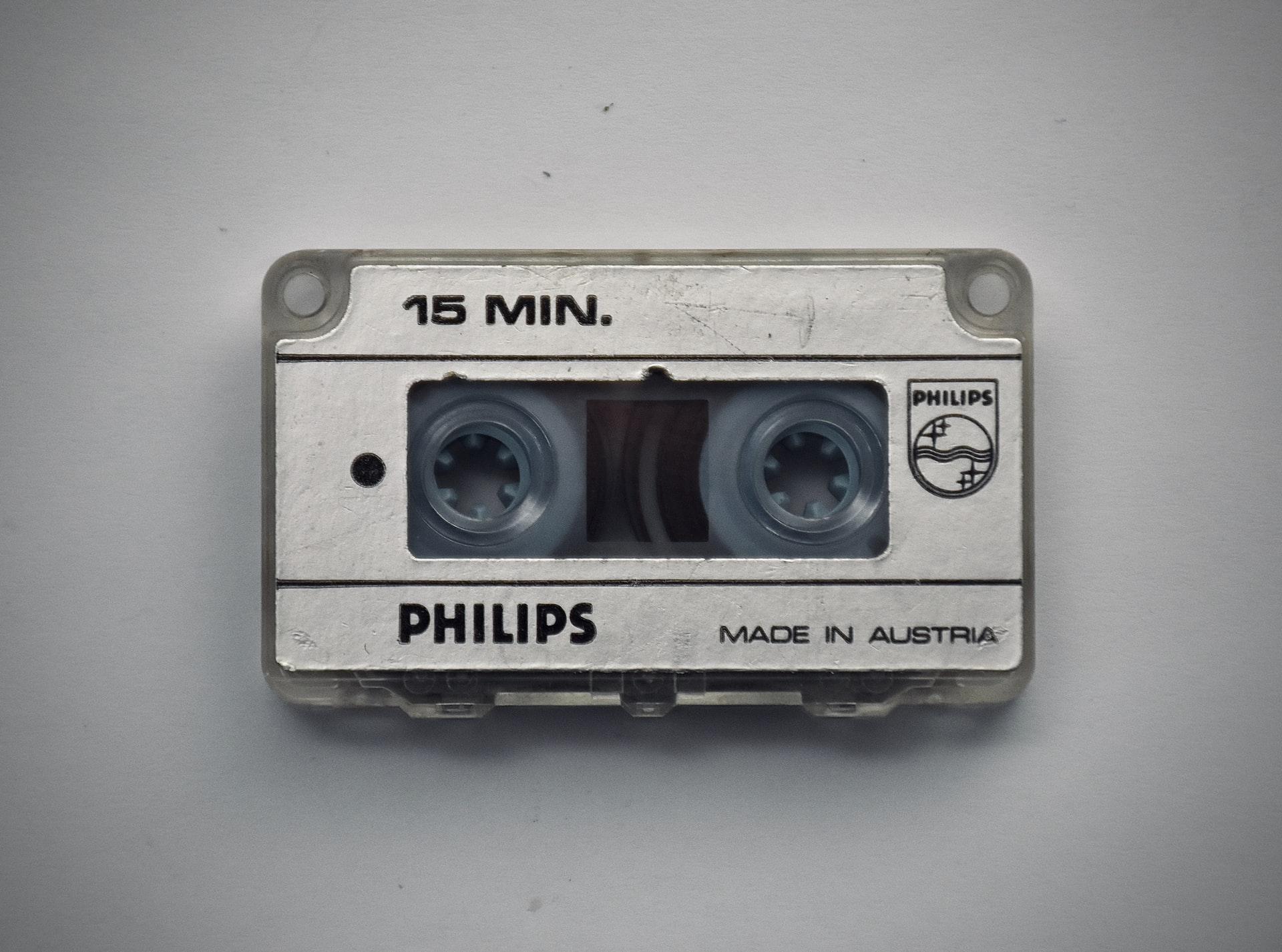 Dictation tape